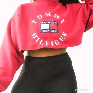 Vintage Tommy Hilfiger crop top